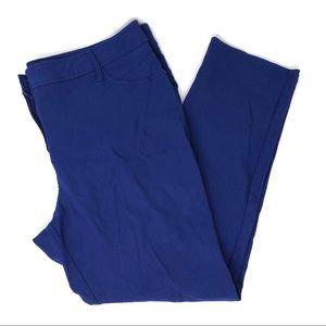 Soho Apparel Ltd Plus Size Purple Skinny Pants